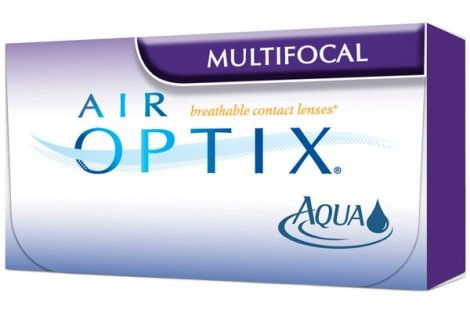 Air Optix Aqua Multifocal Monthly Wear 3 Lenses Multifocal Air Optix Aqua