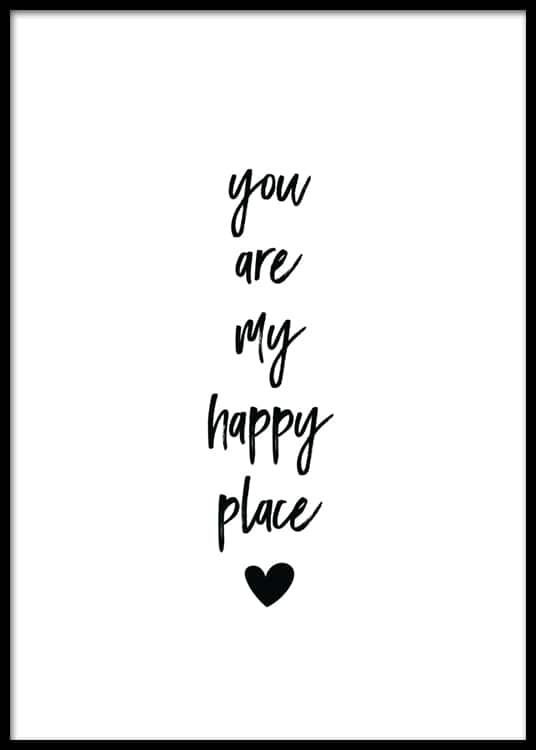 My Happy Place Poster