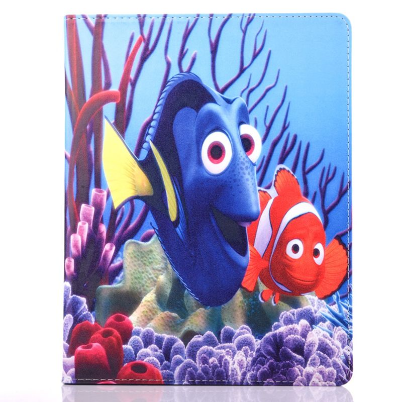 Case For iPad 2 3 4 3D Anmial Movie Finding Nemo Dori And ...  Walt Disney Pictures Presents A Pixar Animation Studios Film Finding Nemo