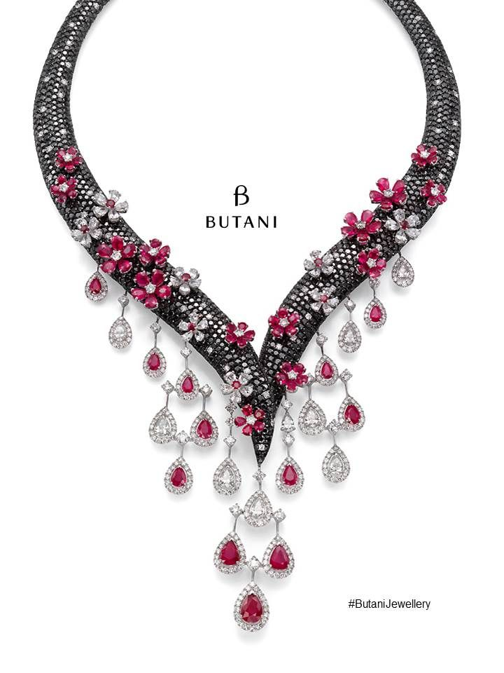 A mesmerising creation when jewellery meets art #Butani # ...