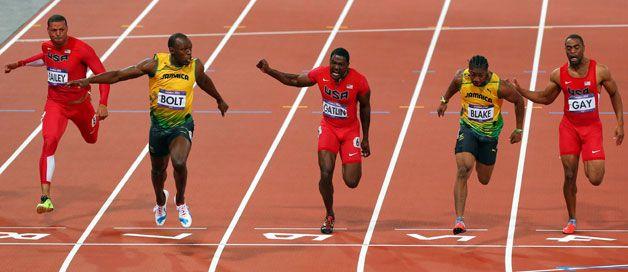 Olympics London 2012 (Image © Press Association Images) Bolt wins 100meters!