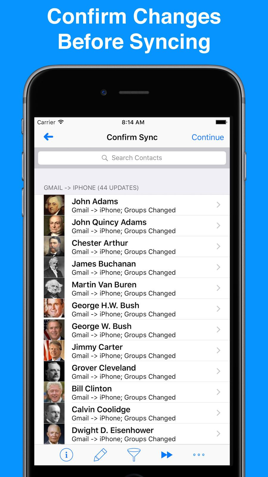 Contacts Sync for Google Gmail UtilitiesAppsios
