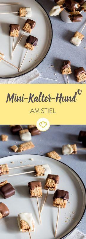 Mini Kalter Hund zum Snacken #foodsanddesserts