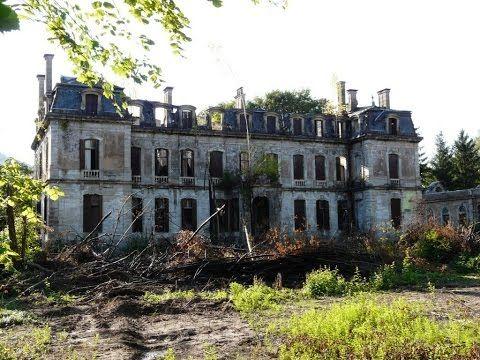 Old abandoned castles in France  Urban Exploring Abandoned