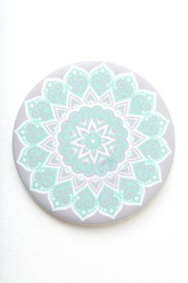 6152679c9154e4 PopSockets  Expanding Stand and Grip for Smartphones and Tablets (Peace  Mandala Tiffany)
