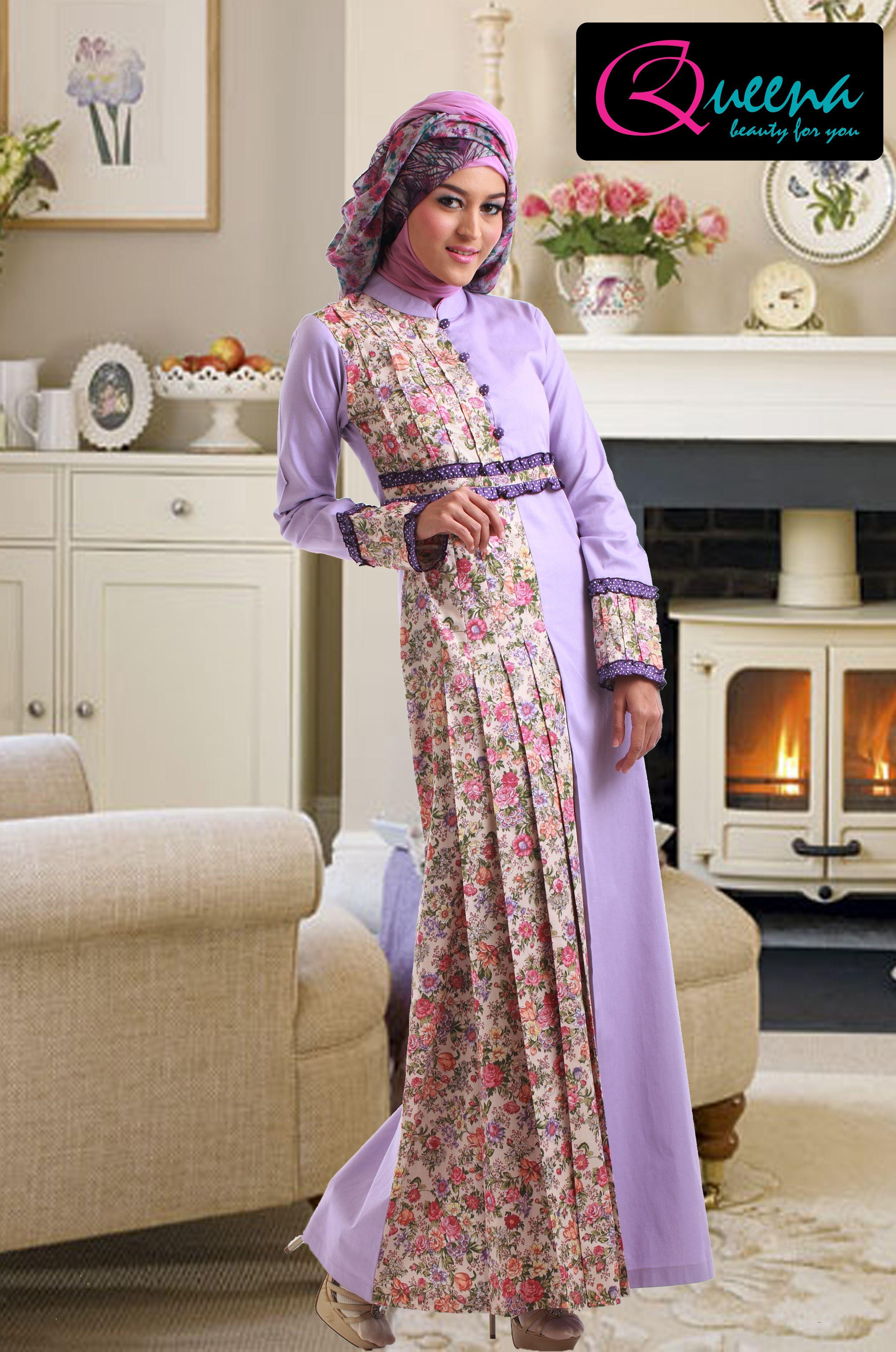 Dress Batik Elegan Kombinasi Brokat Google Search Projects To