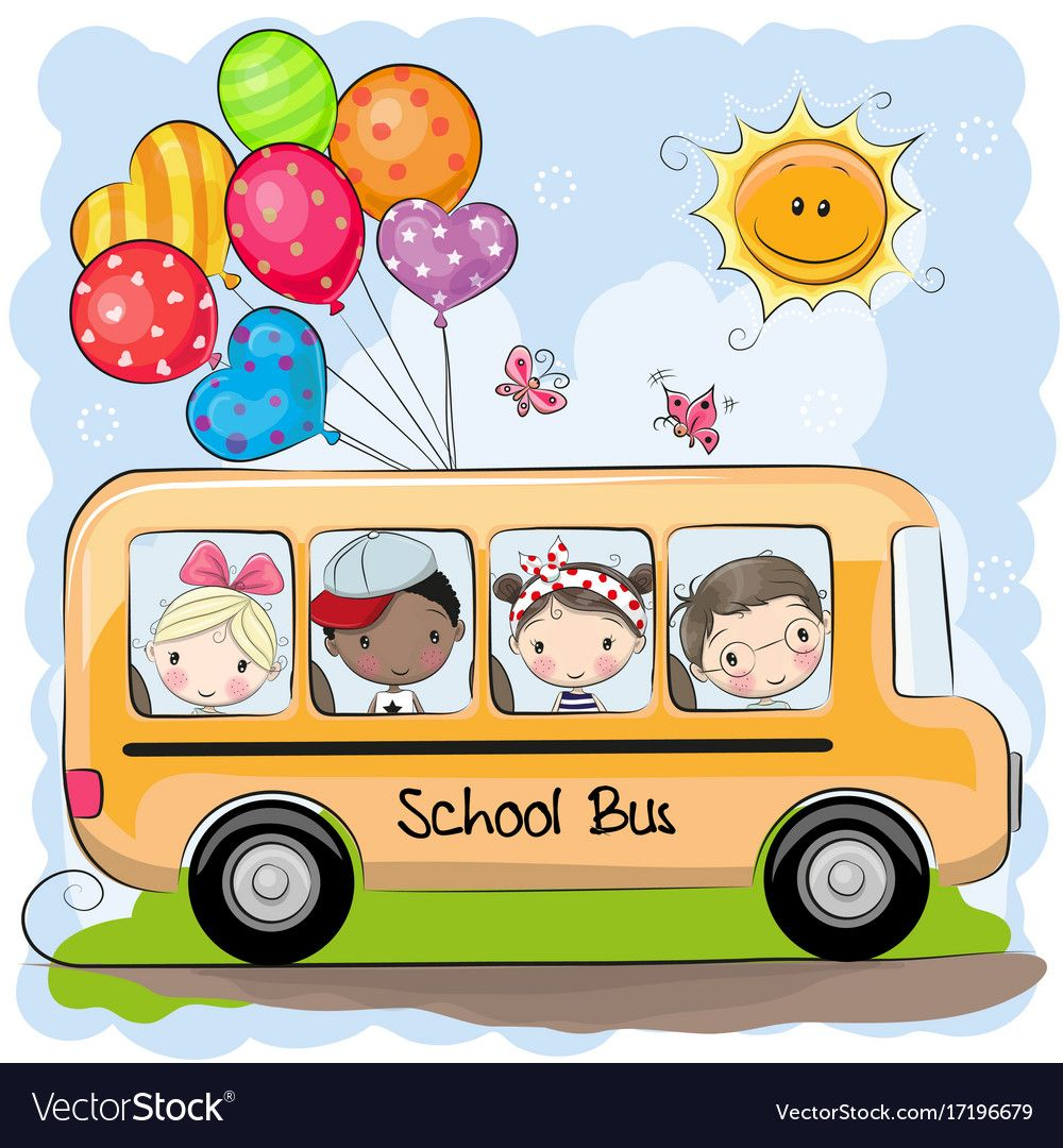 Back To School Vector Image On With Images School Cartoon