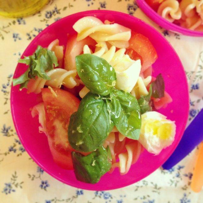 ten minute pasta salad