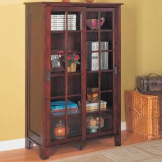 Check Out The Coaster Furniture 950152 Pioneer Closed Bookcase With Gl Doors In Cuccino Priced At