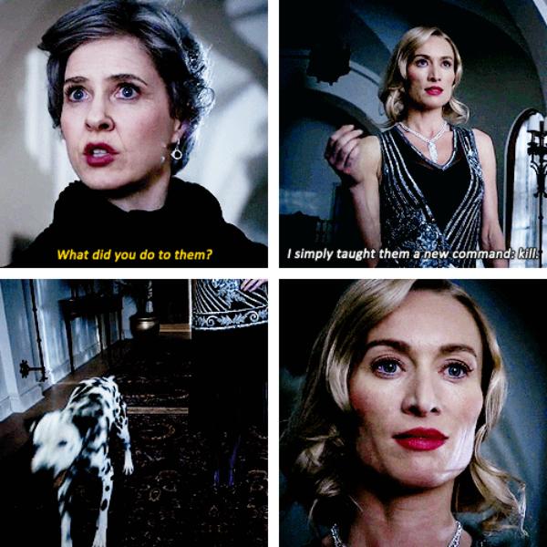 "Cruella and Her Mother - 4 * 18 ""Sympathy For De Vil"""