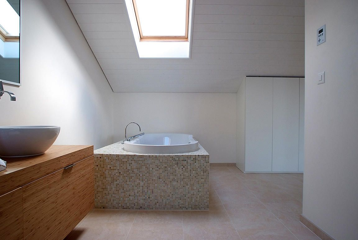 Bathtub detail pully tangram design architecture lausanne fred
