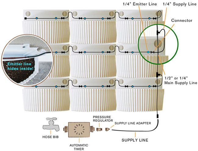Living Wall Planter U0026 Wally Instructions And Specifications | Woolly Pocket