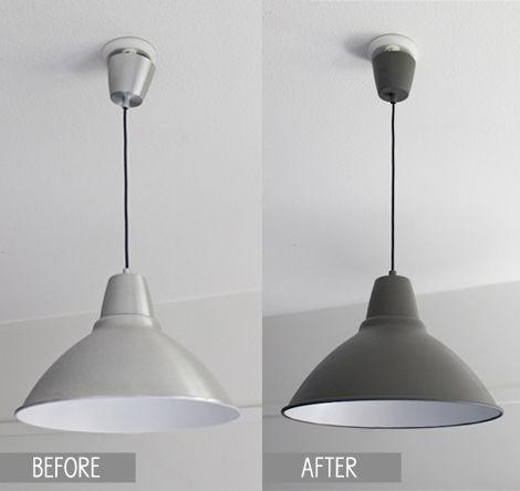 ikea foto lampe cure de jouvence avec de la peinture noire ou gris anthracite mate luminaires. Black Bedroom Furniture Sets. Home Design Ideas