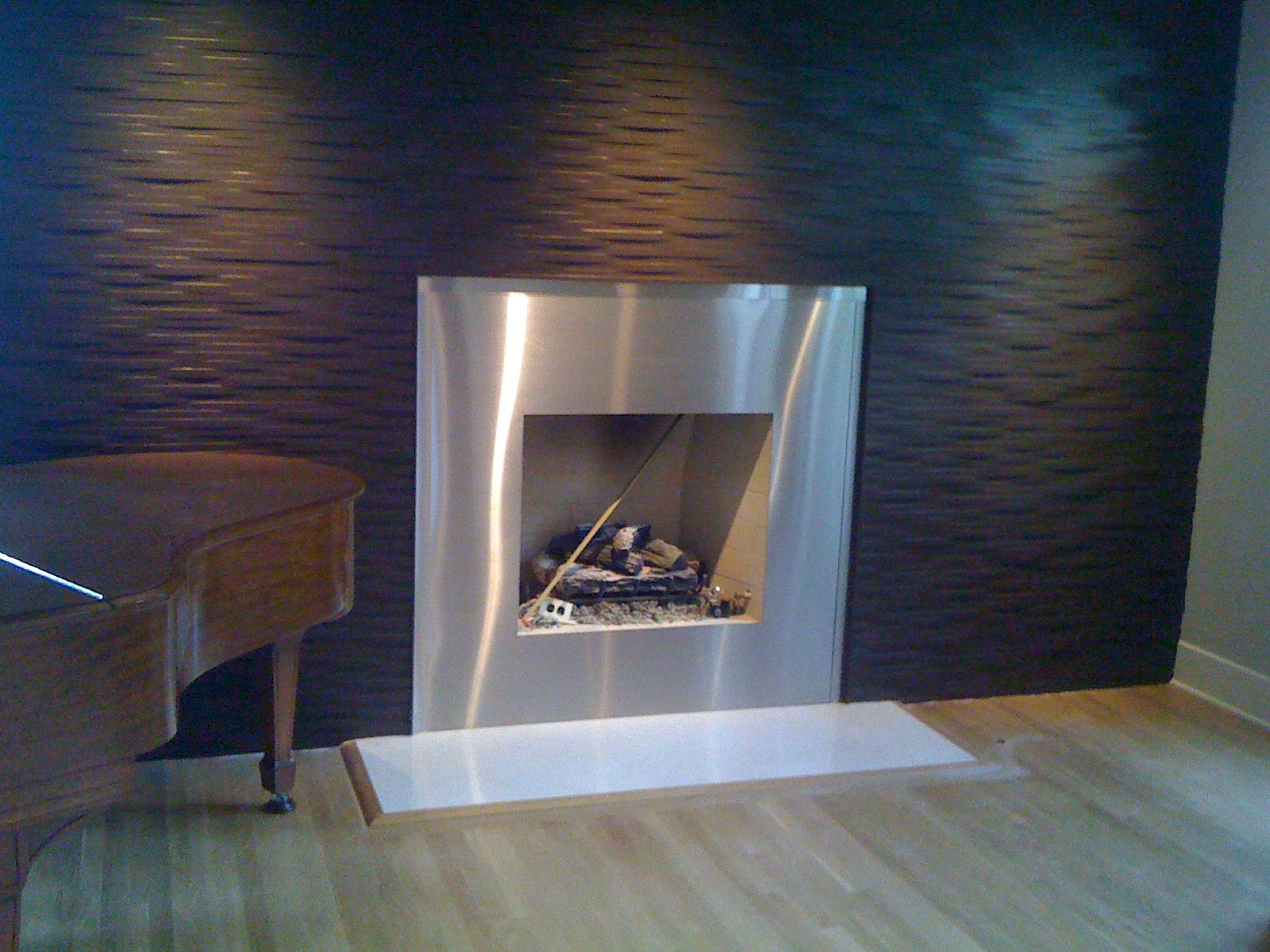 metal fireplace surround kit fireplace pinterest fireplace