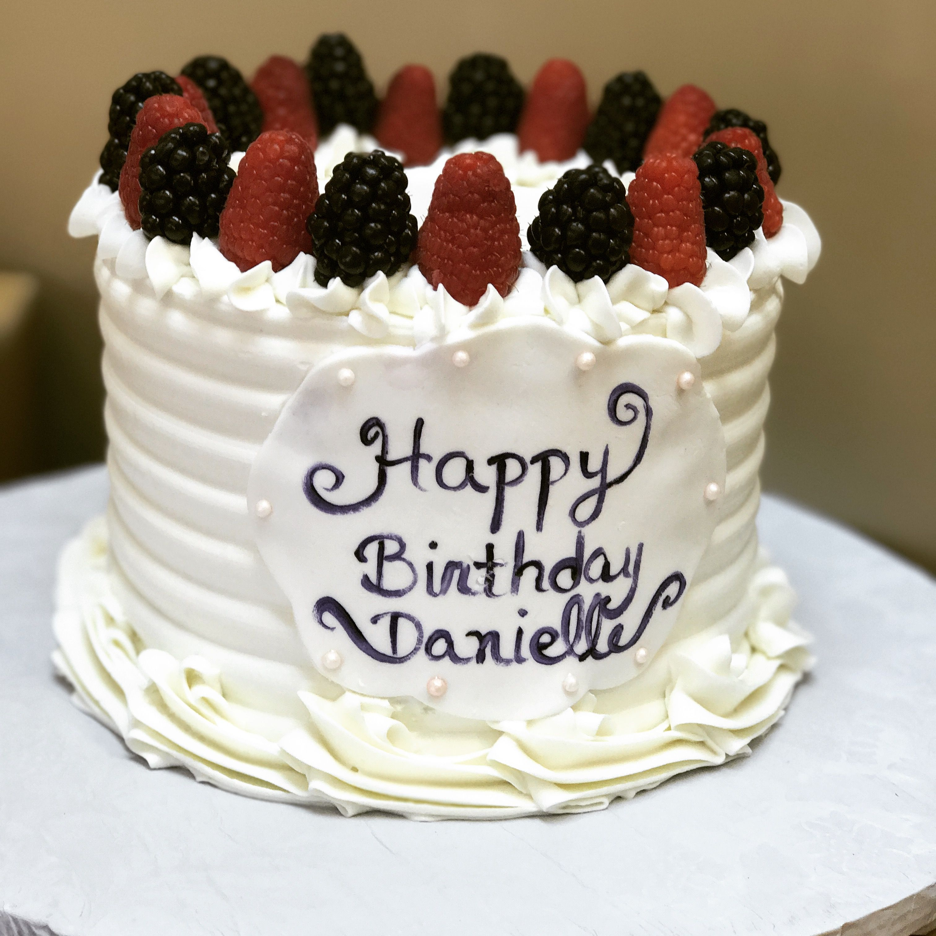 Fresh fruit pound cake Birthday cakes special occasion cakes 3d