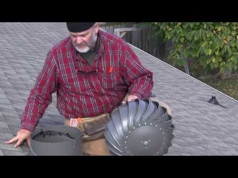 How To Install A Lomanco Whirlybird Turbine Vent Add Ventilation Your Roof S Attic Space Youtube Metal Roof Vents Roofing Diy Roof Vents