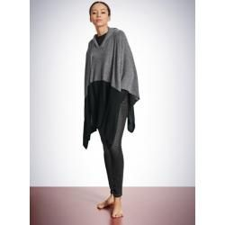 Photo of Strickponcho anthrazit meliert – Revival Laura 40