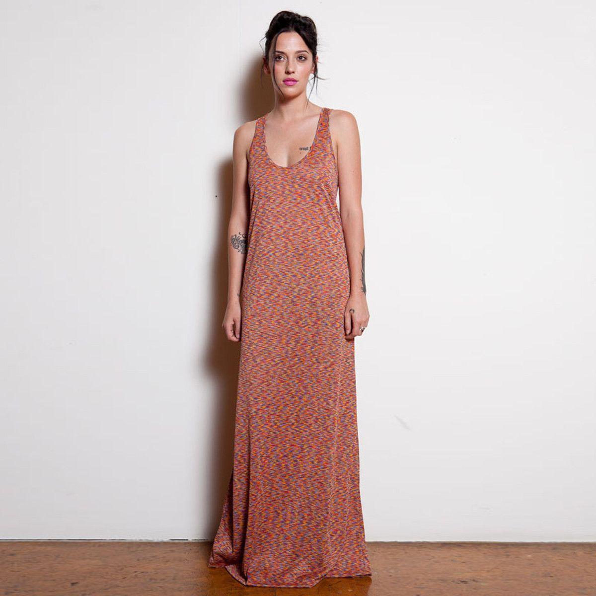 Fab.com | Popsicle Maxi Dress Multi