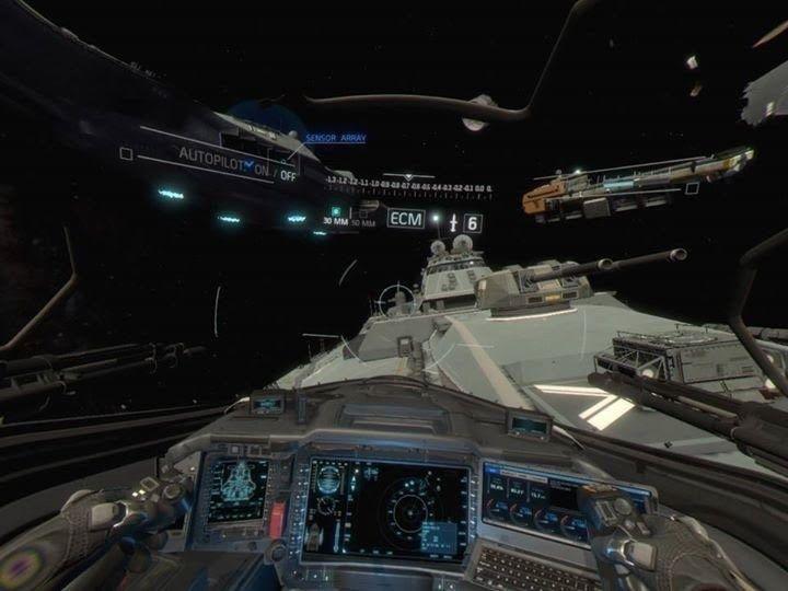 Screenshot for call of duty infinite warfare jackal assault vr experience on playstation 4 - Infinite warfare ship assault ...