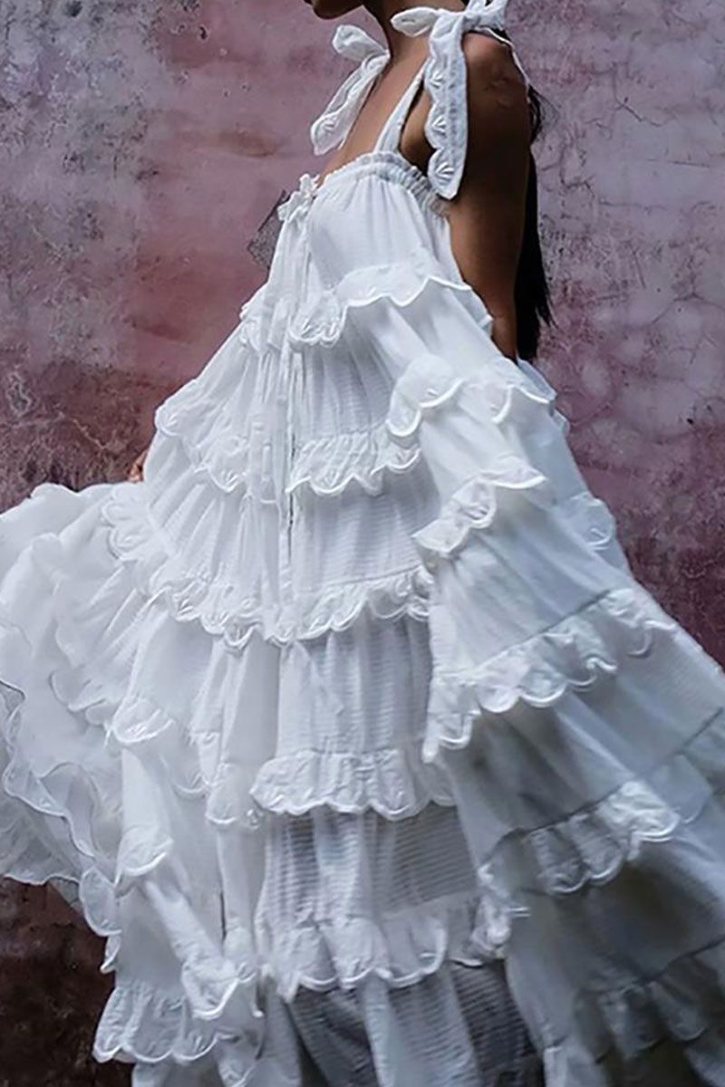 Vintage Ruffled Belted Pleated Dress Pleated Dress Cascading Ruffles Dress Dresses [ 1200 x 800 Pixel ]