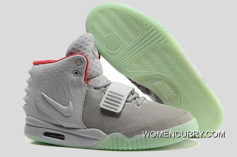 Glow In The Dark Nike Air Yeezy 2  Wolf Grey Pure Platinum  Copuon ... 10b4b1c096de