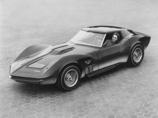 """Mako Shark I I 1965 Chevrolet Corvette Muscle Poster 24/""""x 36/"""""""