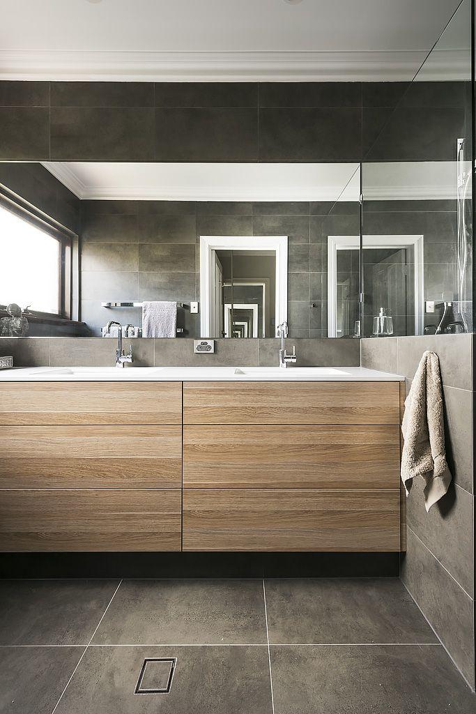 . Vanity in polytec RAVINE Natural Oak   Ba os   Bathroom  Oak