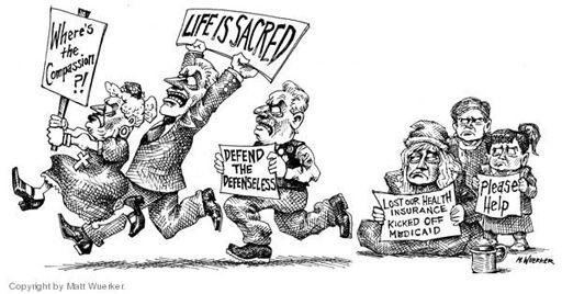 Political Cartoon: