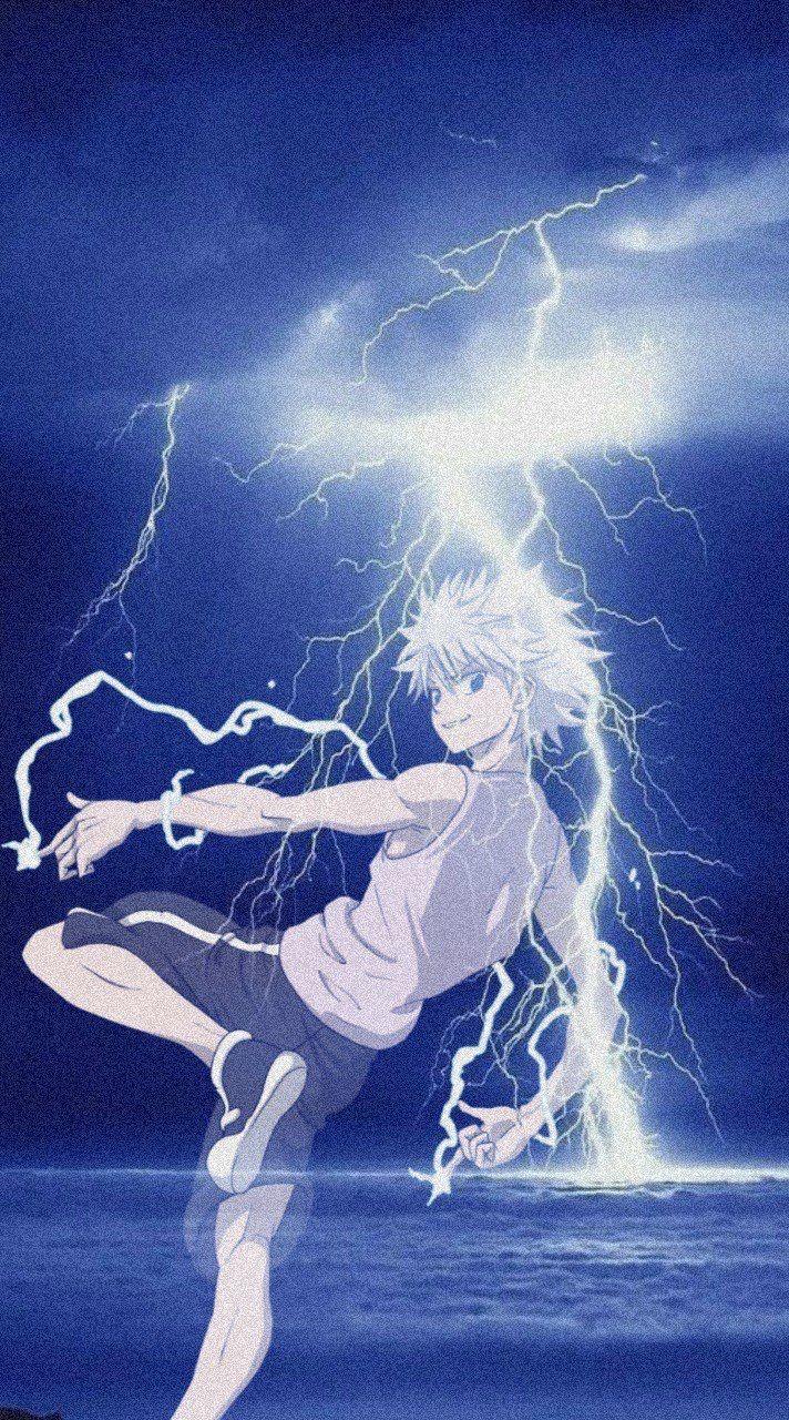 Killua Zoldyck Fond D Ecran Dessin Fond D Ecran Anime Gratuit Fond D Ecran Telephone