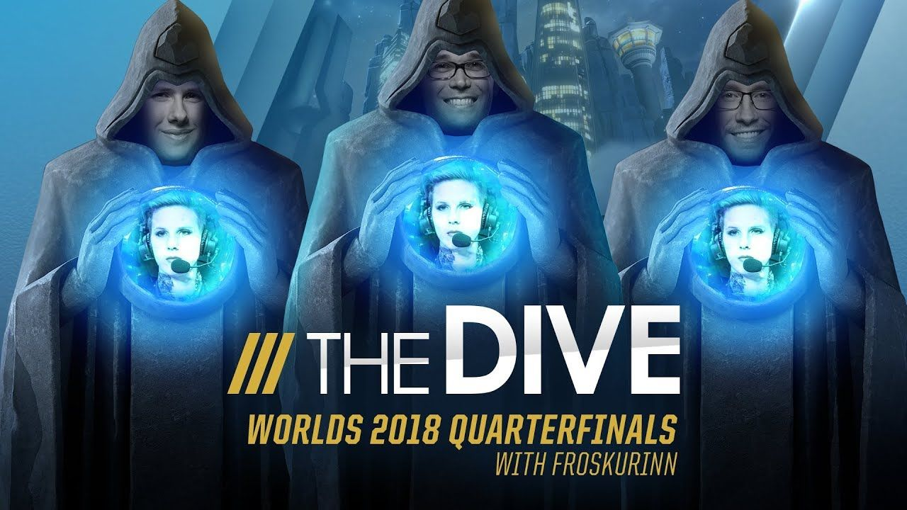 The Dive Worlds 2018 Quarterfinals with Froskurinn