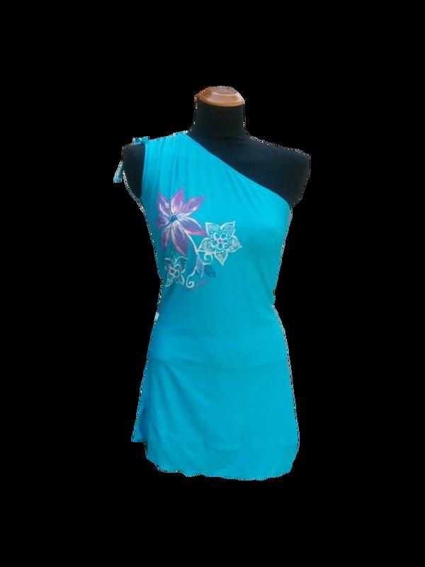 COPRICOSTUME - ARTIGIANI ALLA RIBALTA  #mini-dress #handpainded #madeinitaly