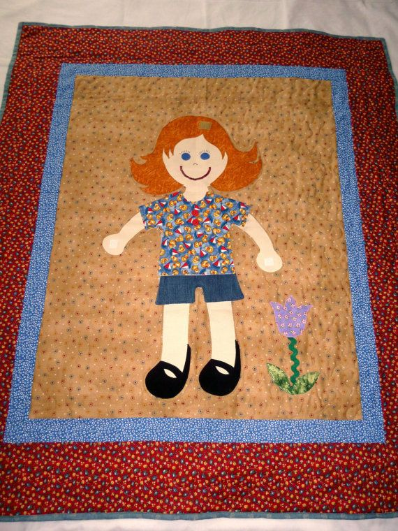 Dress Me Doll Quilt Paper Doll Quilt   Doll quilt, Hair bow and Dolls : doll quilts for sale - Adamdwight.com