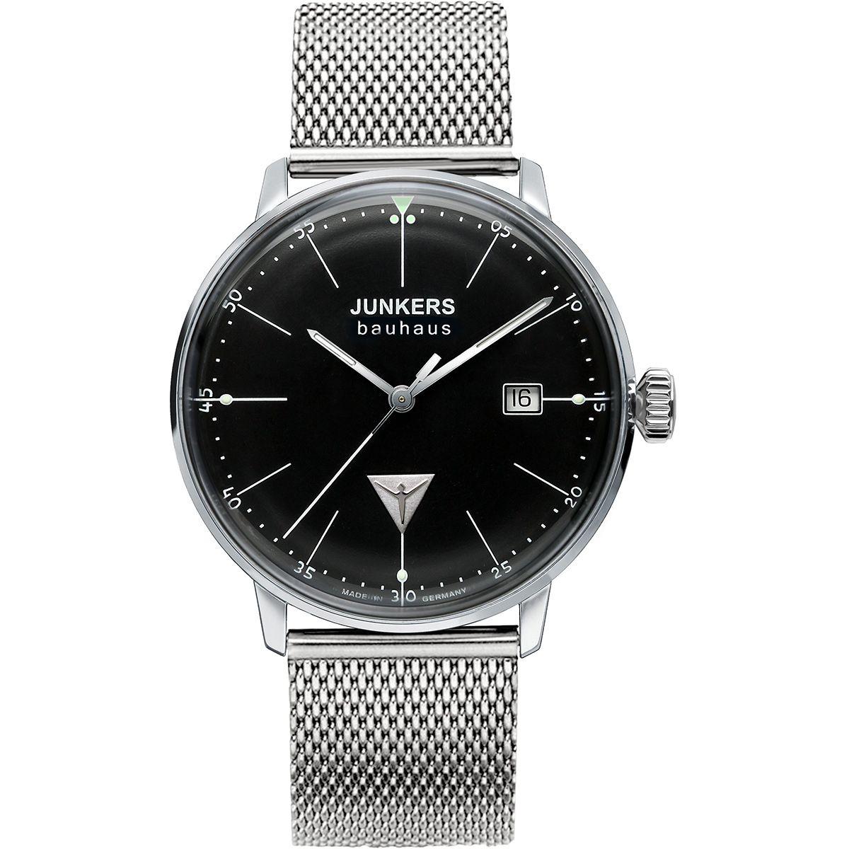 Junkers 6071M2 Bauhaus Lady Armbanduhr, Uhren herren