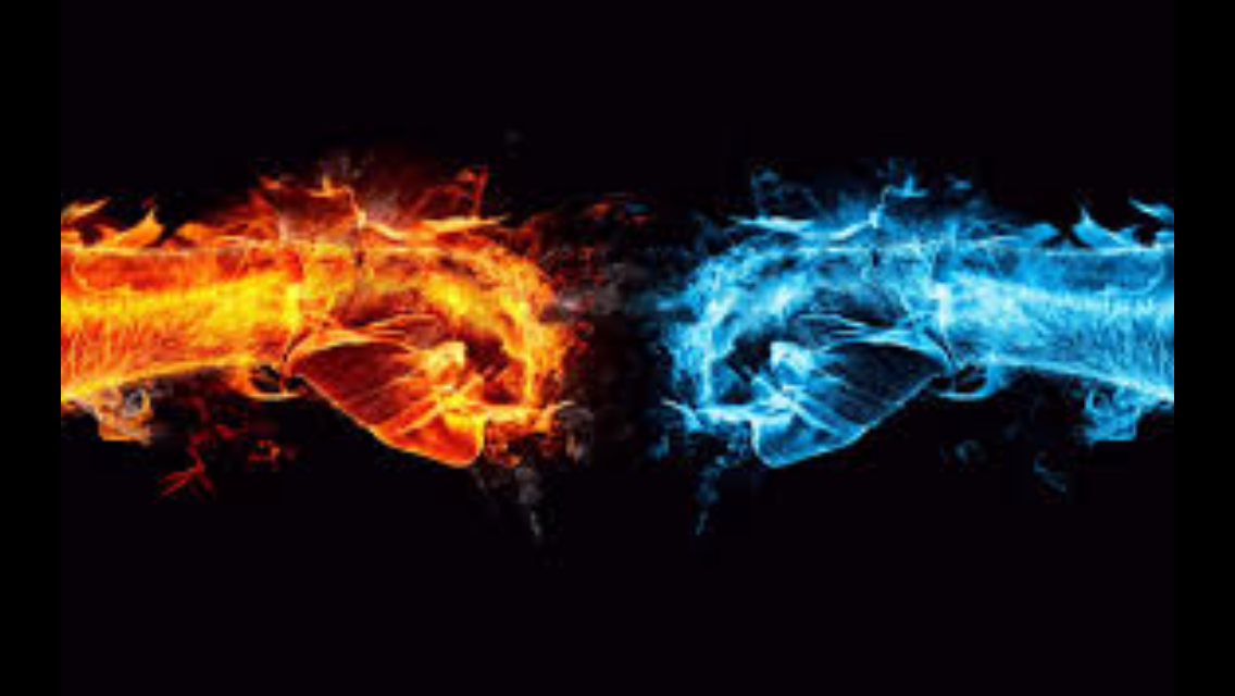Fire Vs Water Who Do You Think Would Win And Do Like Fire Or Water Better Cool Desktop Cool Desktop Wallpapers Fire Art