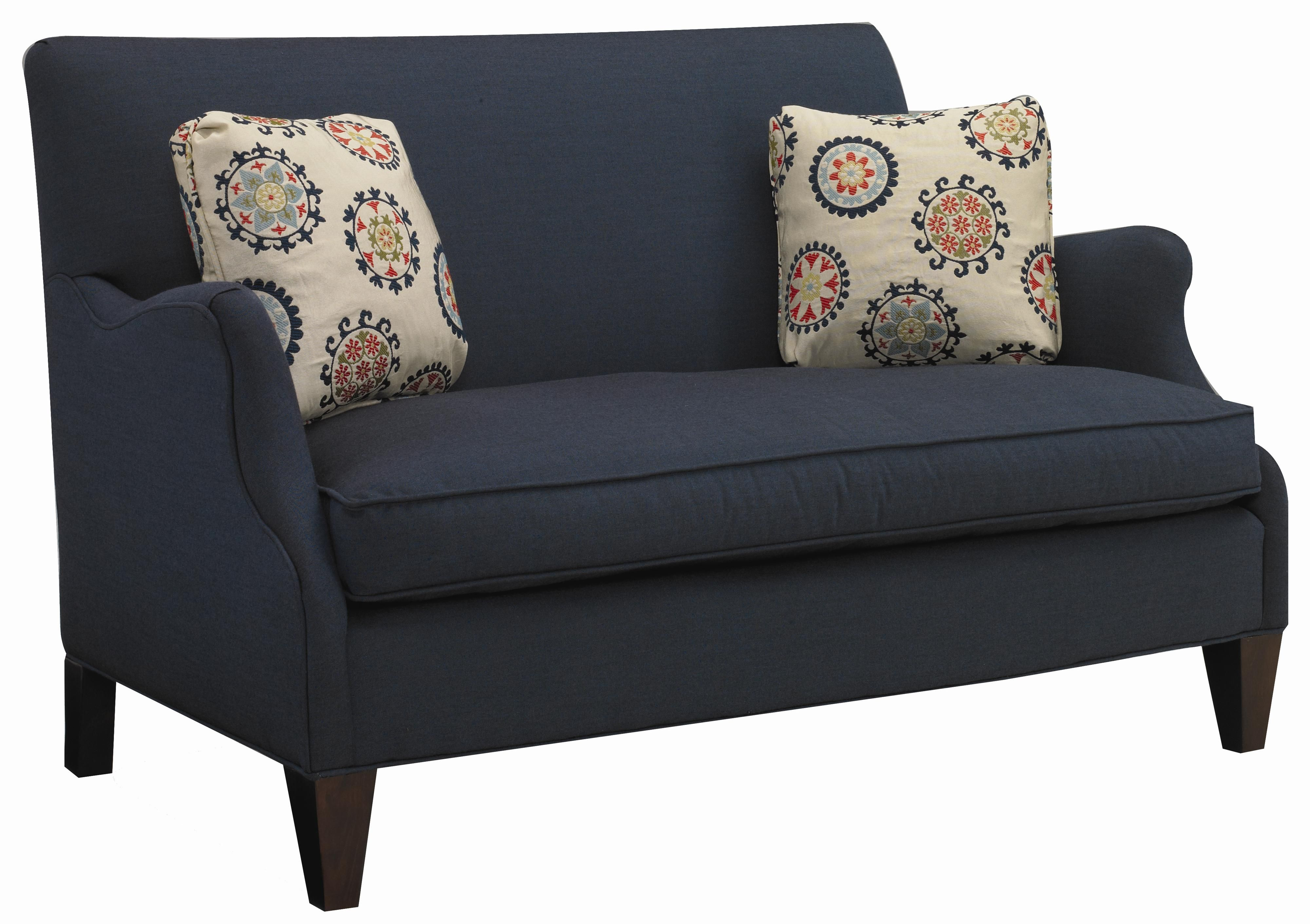contemporary settee Contemporary Settee with Romantic