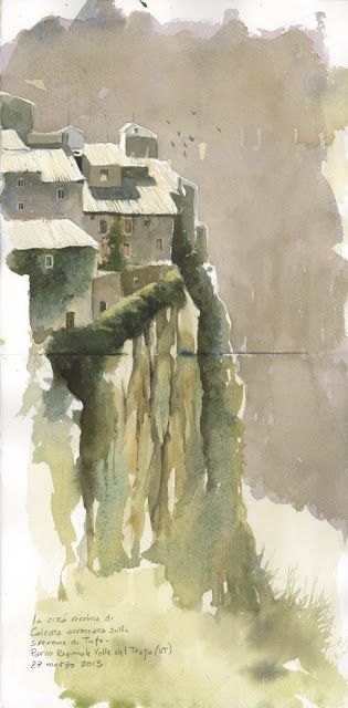 Urban Sketchers Italy: Postcard from Italy