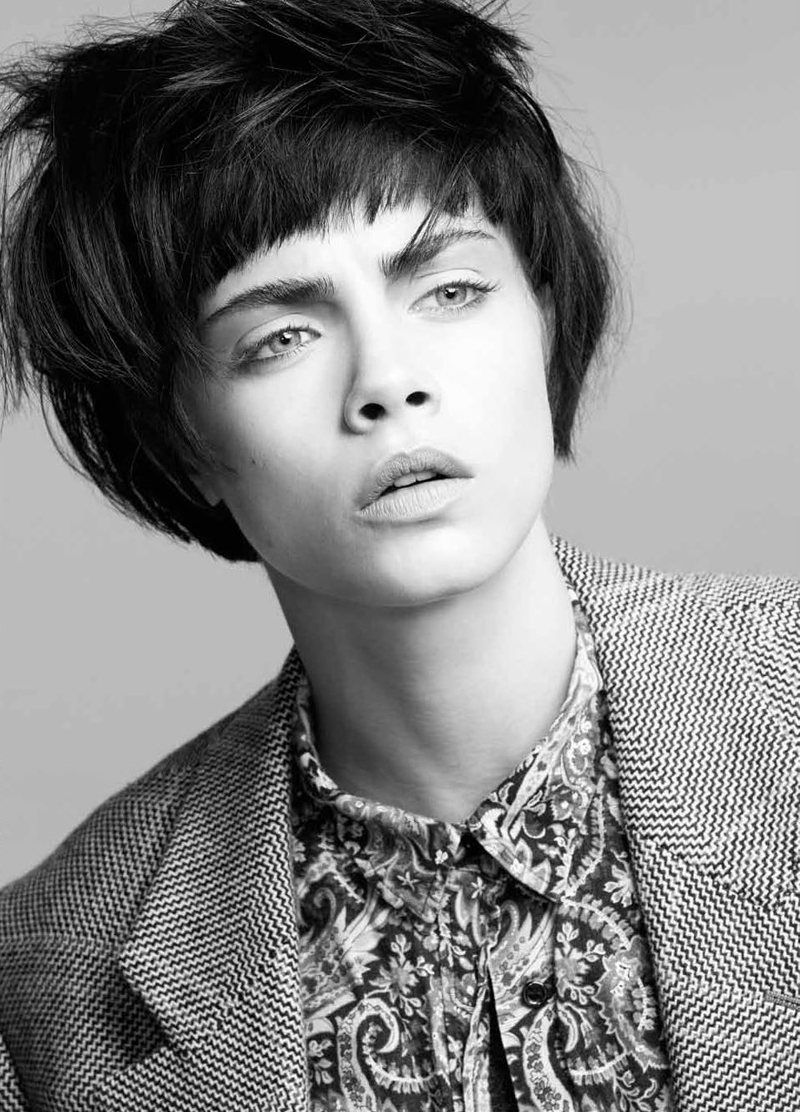 cara delevingne2 Cara Delevingne by Jermaine Francis for Tank Fall ...
