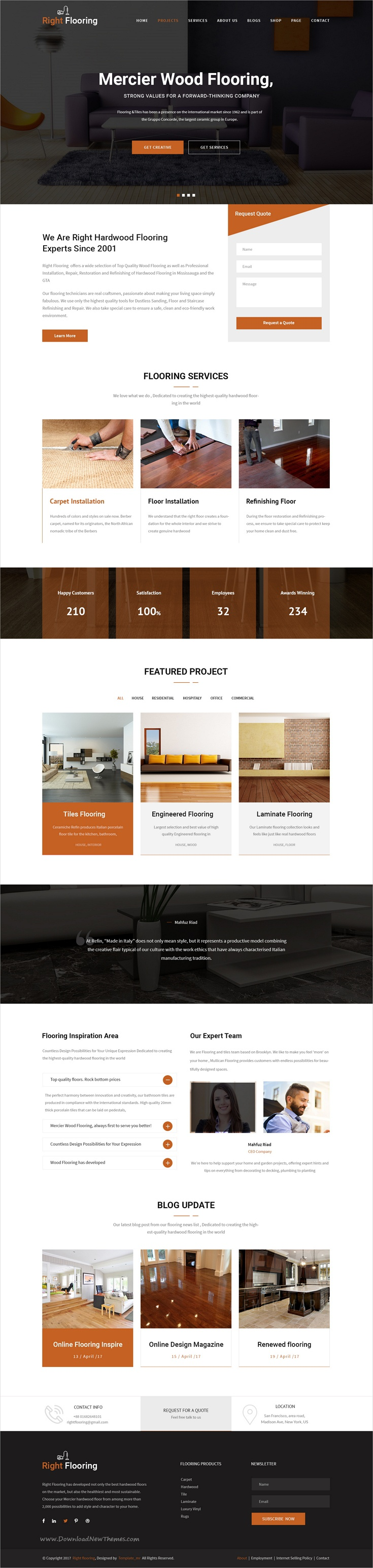 flooring and tiling psd template psd templates and template