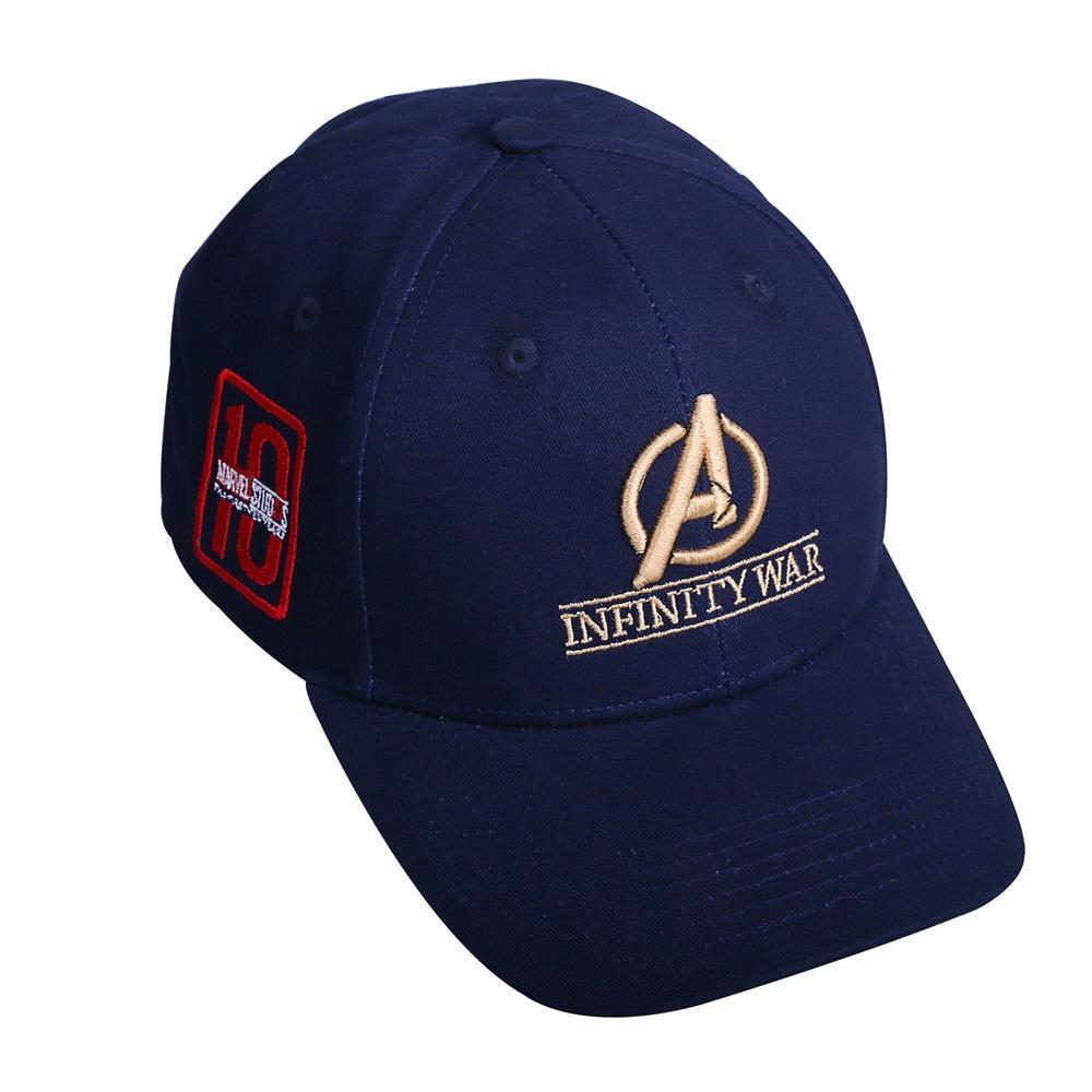Avengers Infinity War Crew Hat New Equip Embroidered Gauntlet Cap Superhero Hat