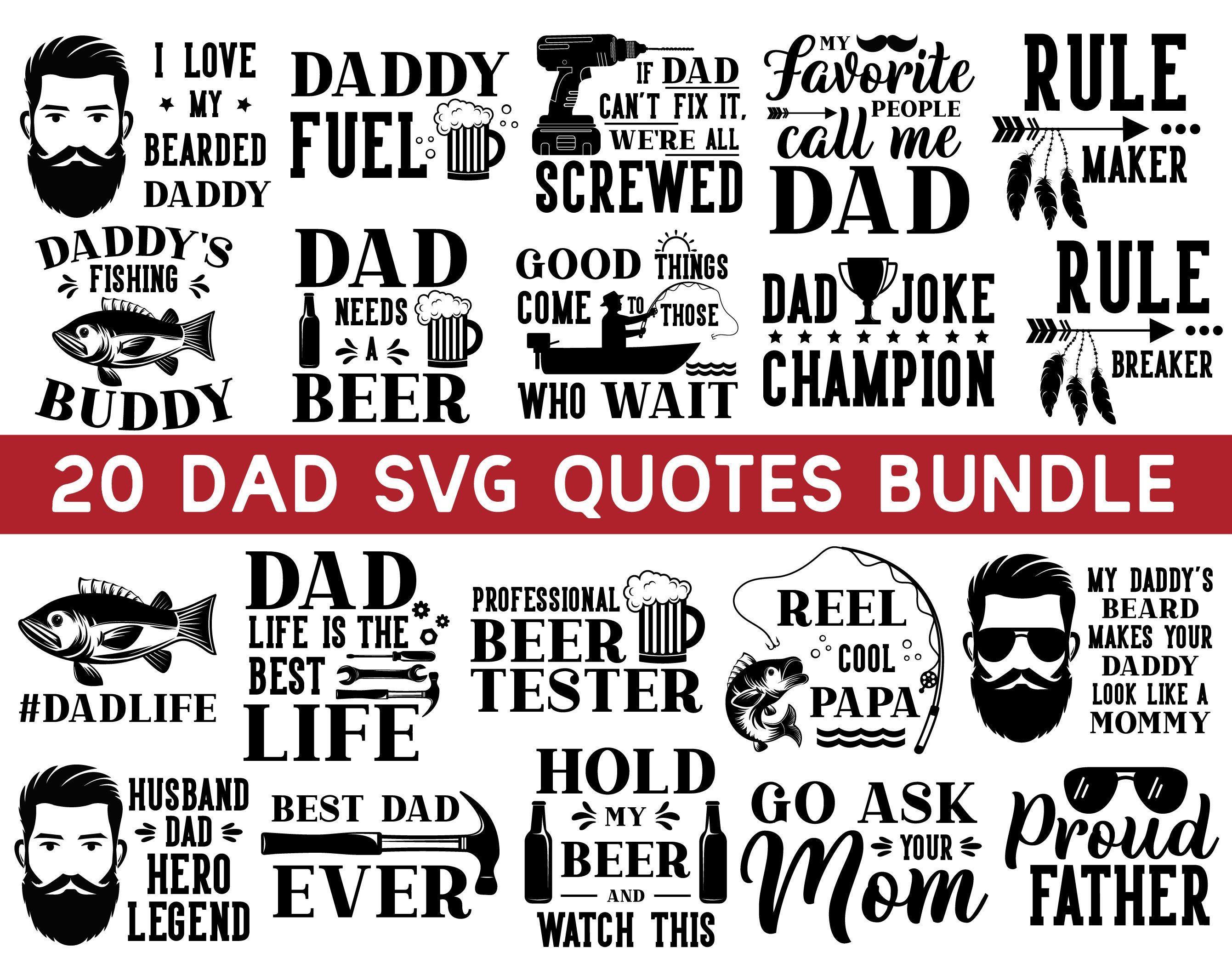 Download Dad Svg Bundle Dad Svg Daddy Svg Father S Day Svg Papa Etsy Dad Svg Fathers Day Svg Dad Quotes