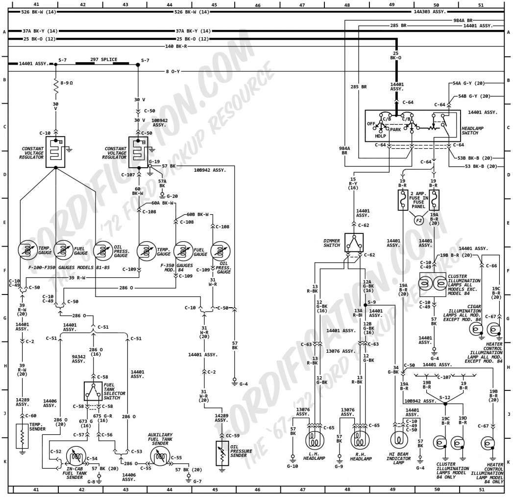 10 Ford L Truck Wiring Diagram