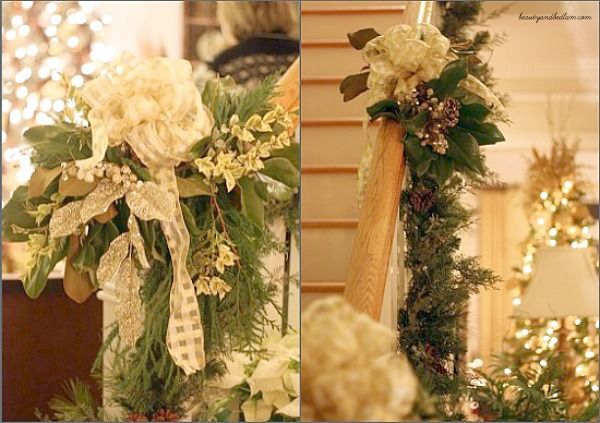 Gorgeous Christmas Mantel Decorations and Ideas for Garlands DIY