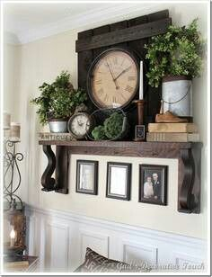 Decorate Living Room With No Fireplace Tall Side Tables Mantel Without Inspiring Ideas Pinterest Home Decor