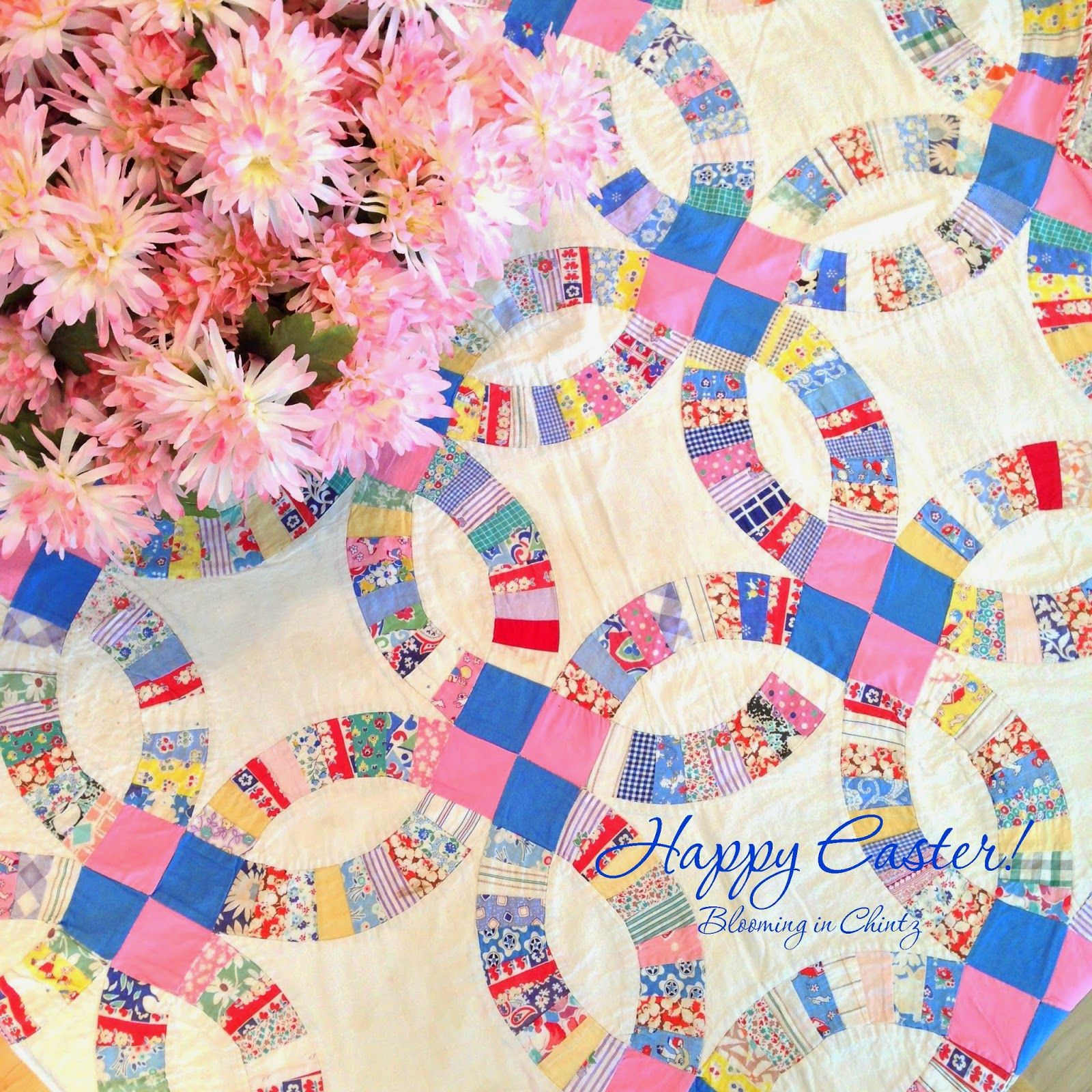 Happy Easter from bloominginchintz.blogspot.com | Quilts | Pinterest ...