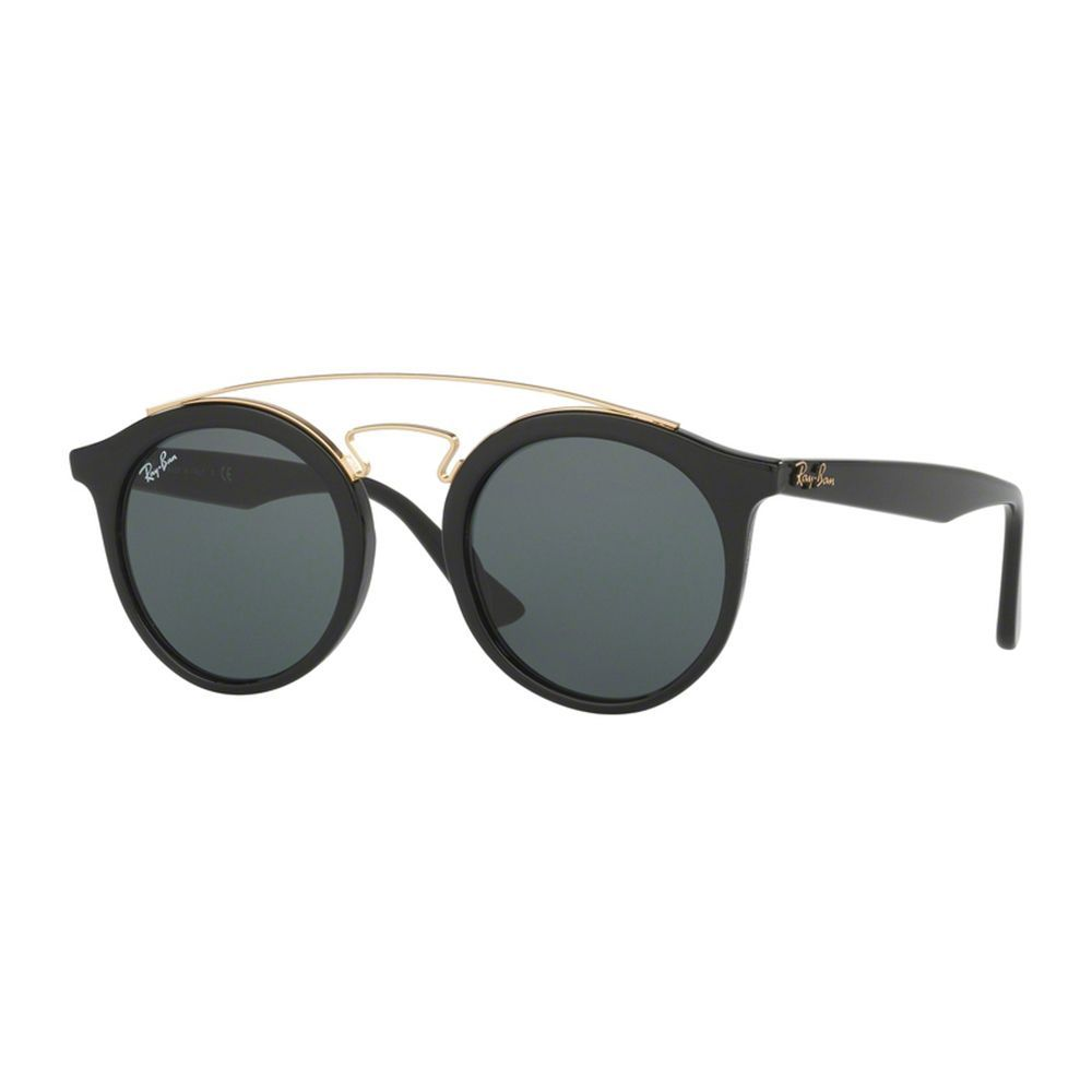 468468da03 Ray-Ban RB 4256 601 71 Gatsby I Black Plastic Fashion Sunglasses Green Lens  (Black)