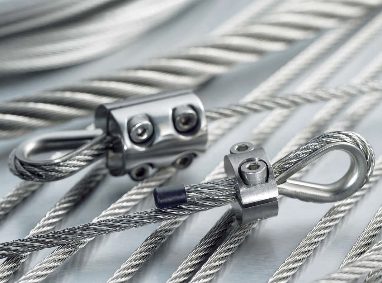 Stainless steel wire is now used extensively in the - Cables de acero ...