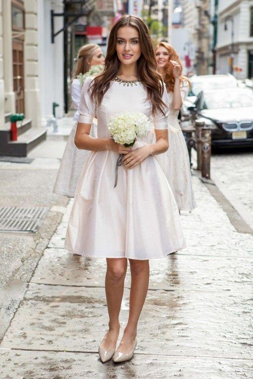 Vows Wedding Dresses Nyc : Dress maroon wedding vows bridesmaids bells bridesmaid