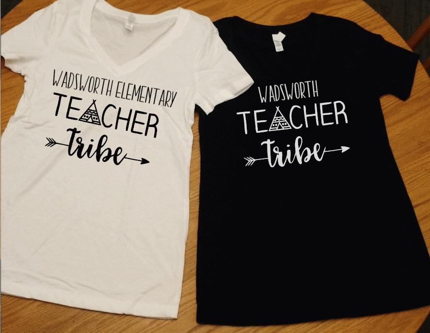 929bcffc6 Personalized/Custom Teacher Tribe Shirt, Teacher Shirt, Back to School  School Spirit Tee, School Pride, Teacher shirt, Teacher gift