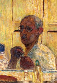 Bonnard Self Portrait Would love to own this painting of the artist I so admire. Definitely a man before his time.