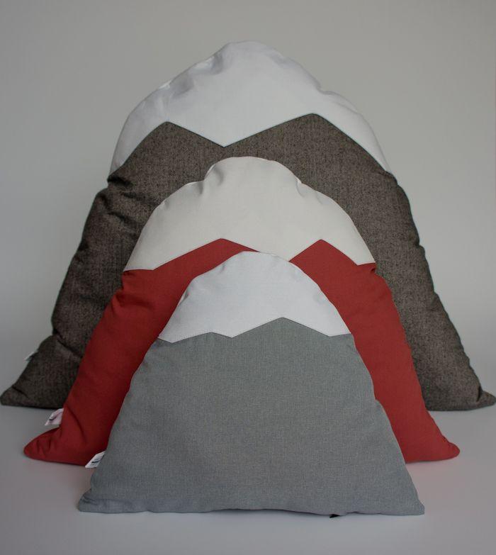 Markrun Mountain Pillows By Icelandic Designers Leopold